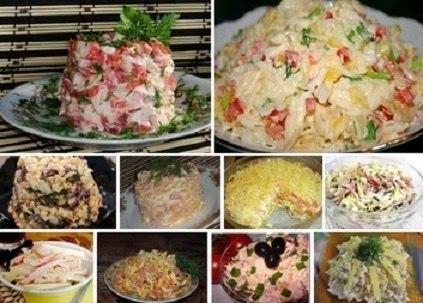 ТОП-10 самых быстрых салатов! Готовятся за 10 минут!