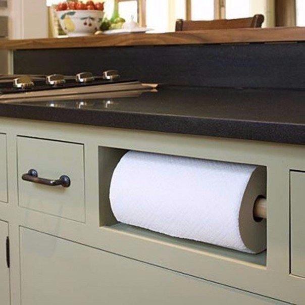8 чертовски удобных способов сэкономить место на кухне