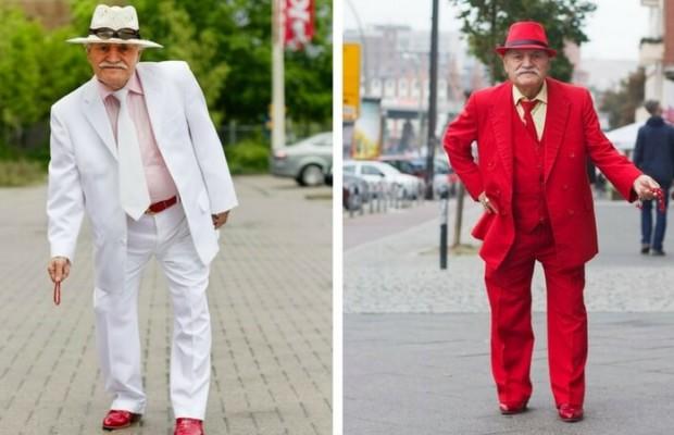 Стильный дедушка: 86-летний портной каждый день меняет наряды