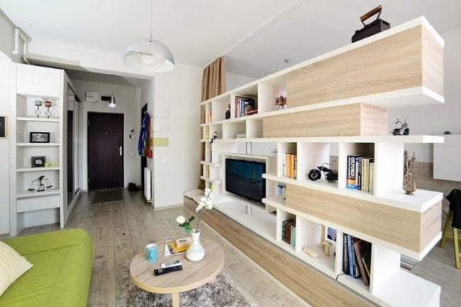 Однокомнатная квартира — как кубик Рубика: картинка сложится, если хорошенько подумать...