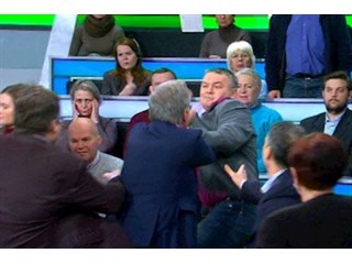 Свиньи и младенцы. Украинское российское телевидение