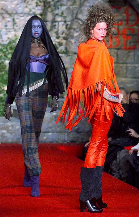 Иванка Трамп на показе Vivienne Westwood, 1999 год