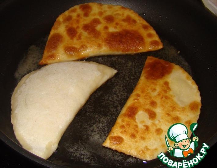 Рецепт: Лепешки с сыром Проще простого