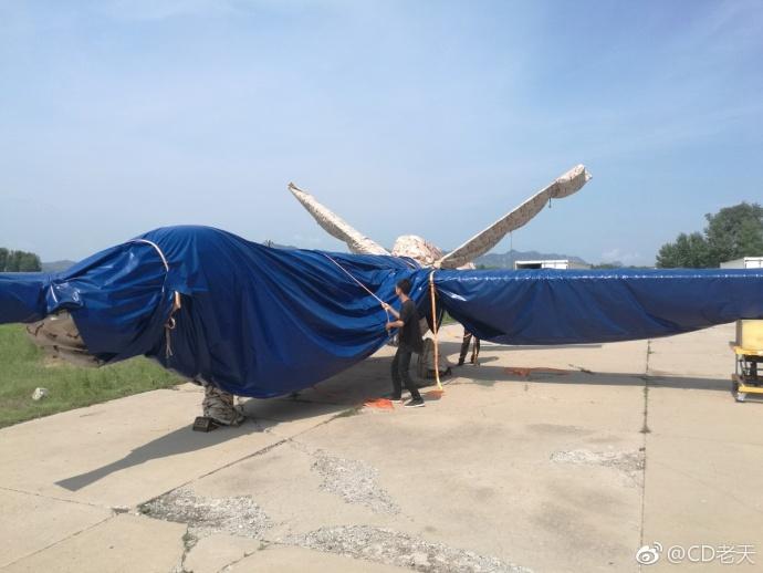 Новейший китайский беспилотный летательный аппарат CH-5 совершил первый полет