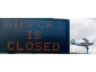 Зачем ЕС закрывает аэропорты Харькова, Запорожья и Днепра?