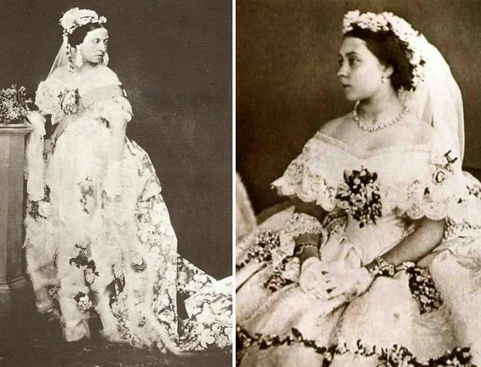 Королева виктория в белом