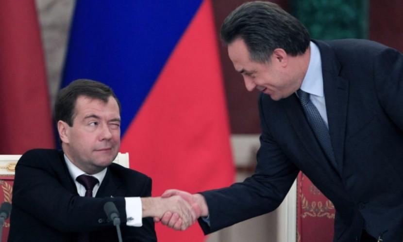 «Лет ми спик фром май харт ин рашн»: Медведев представил Мутко членам кабинета министров