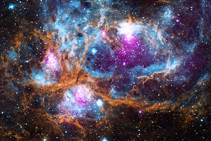 НАСА показало космическую «страну чудес»