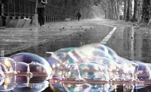 Мыльный дождь в Нижнем Новгороде