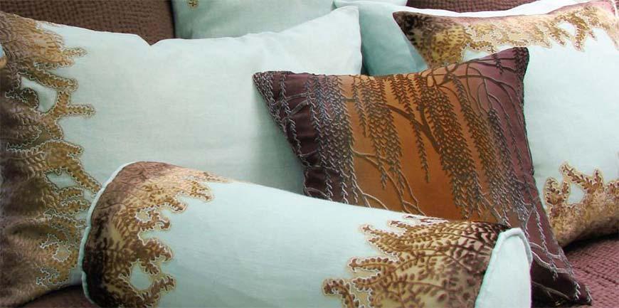 подушки с рисунками