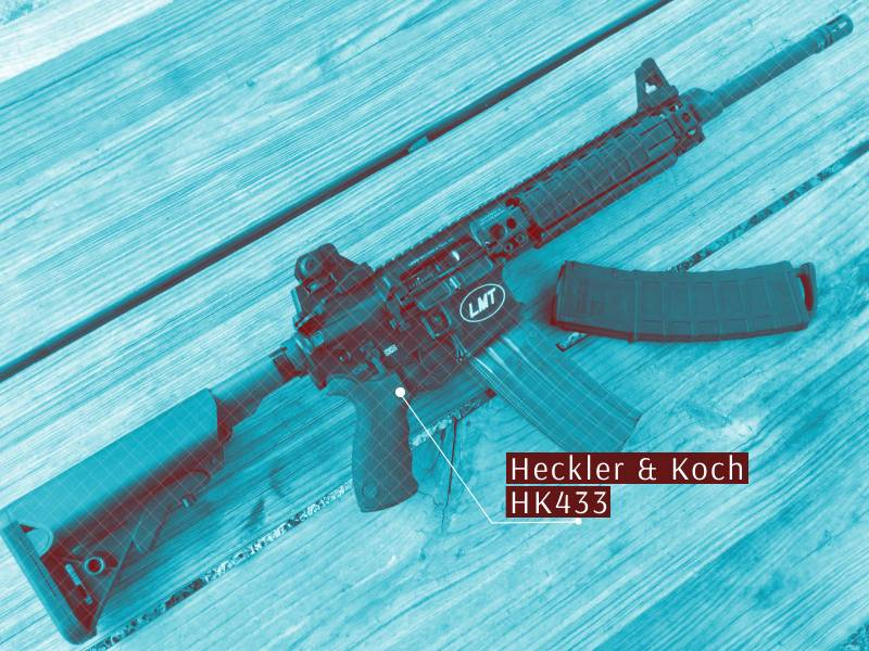 Модульная штурмовая винтовка Heckler & Koch HK433
