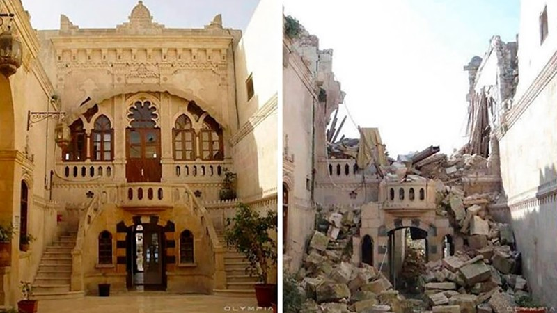 25 фотографий сирийского города Алеппо до и после войны