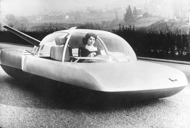 Странные транспортные аппараты из прошлого
