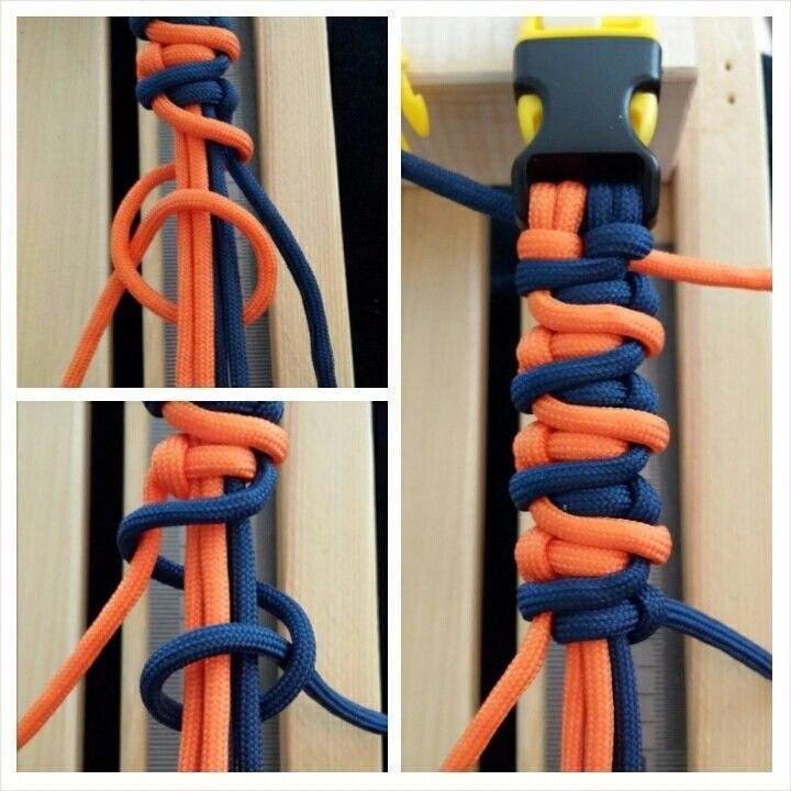 Техника плетения макраме - модные браслетики будут и у вас!