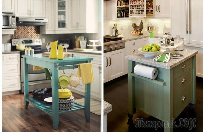 Кухонные островки, которые влюбляют в себя с первого взгляда