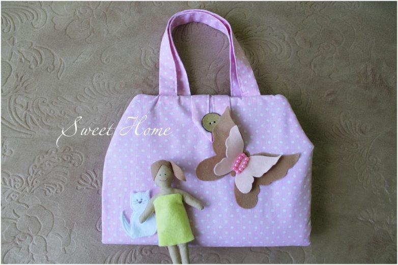 Очаровательная сумочка для девочки