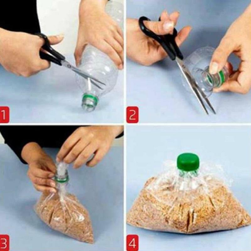 пластиковые бутылки применение
