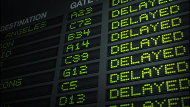 Около 40 рейсов в Москве было отменено