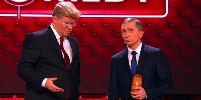 """""""Камеди клаб"""" показал свою версию переговоров Путина и Трампа"""