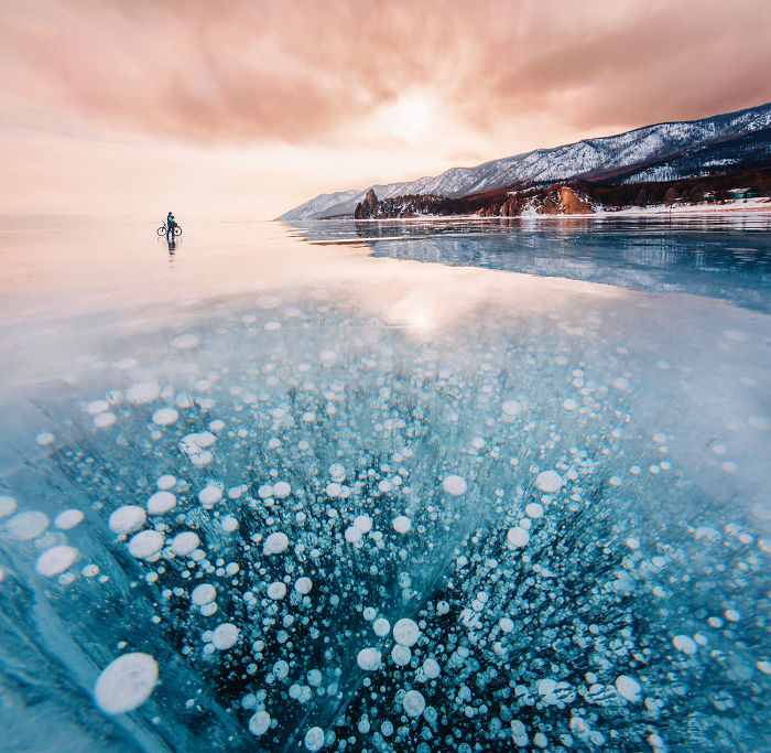 I Walked On Frozen Baikal, The Deepest And Oldest Lake On Earth To Capture Its Otherworldly Beauty