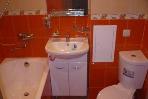 Ремонт ванной и туалета в панельном доме фото