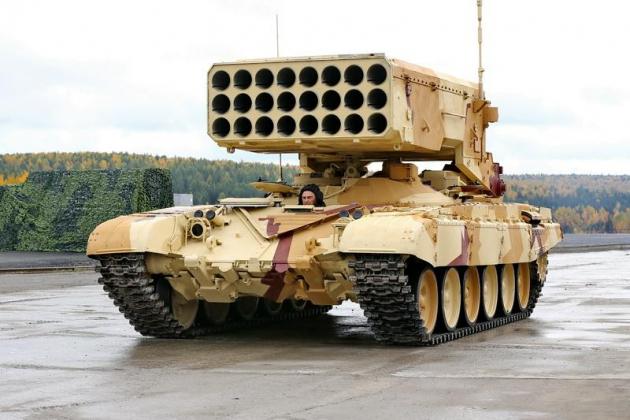 Пугающая мощь: оружие России при штурме Мосула