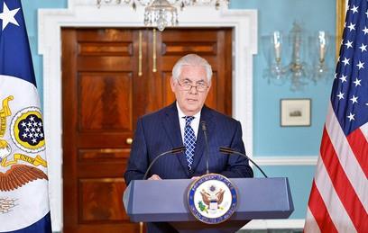 Госсекретарь США Тиллерсон прибыл в Киев