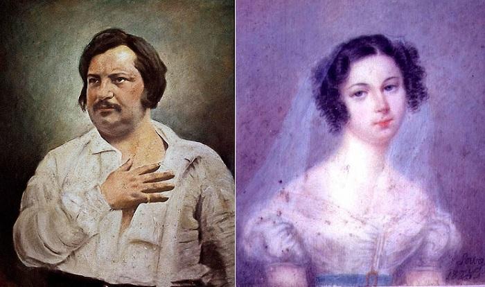 Оноре де Бальзак и Эвелина Ганская: роман в письмах длиной в 17 лет