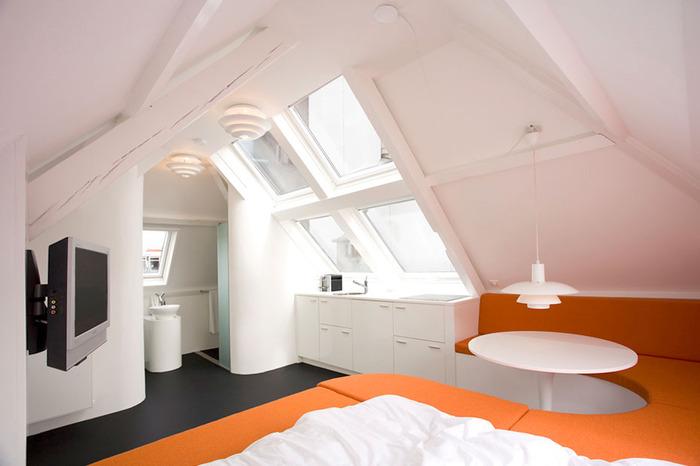 Идеи для маленьких квартир: 35 м² в Гааге