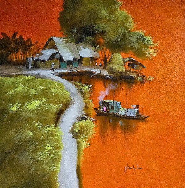 художник Dang Van Can - 12