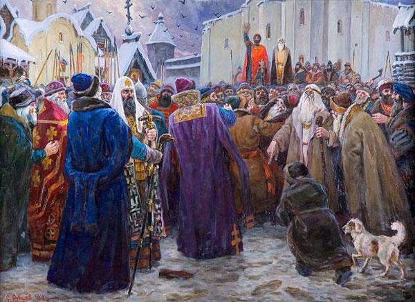 Основные черты вечевого правосудия в Древней Руси