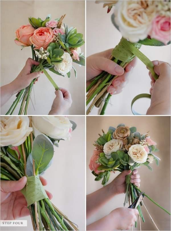Букет невеста своими руками