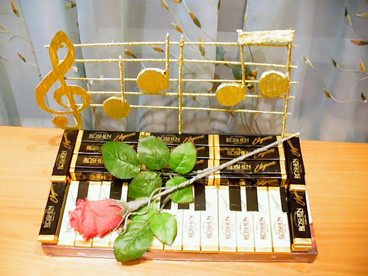 Подарок на музыкальную тематику