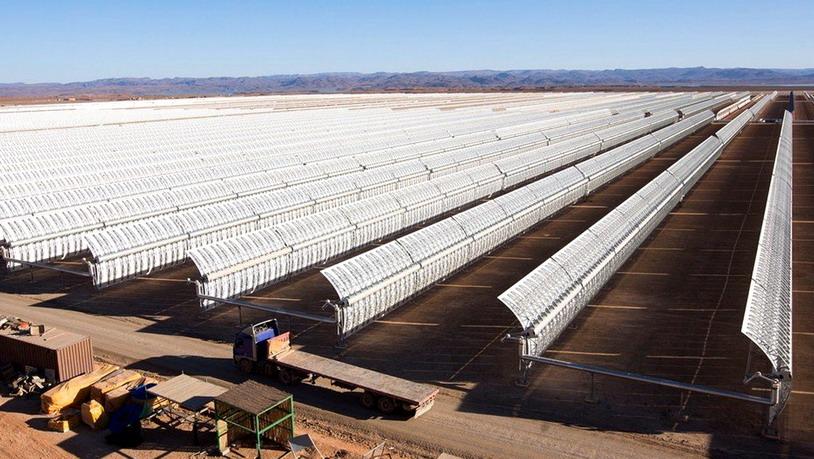 Гигантская солнечная ферма скоро может обеспечивать энергией Европу