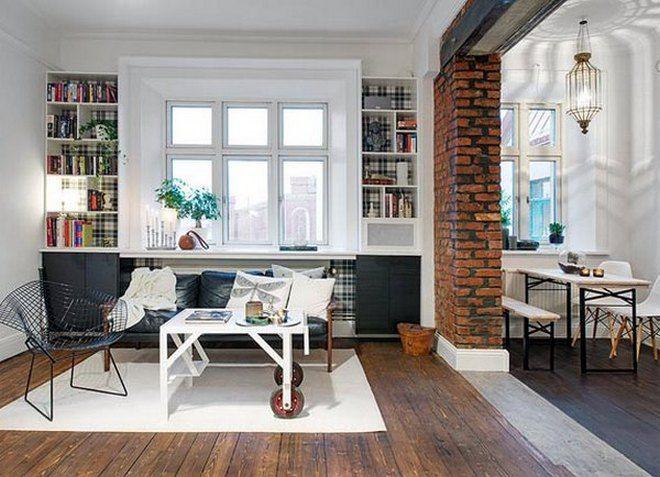 интерьер однокомнатной квартиры 32