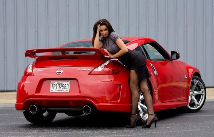Сексуальные девушки и заряженные автомобили (80 фото)