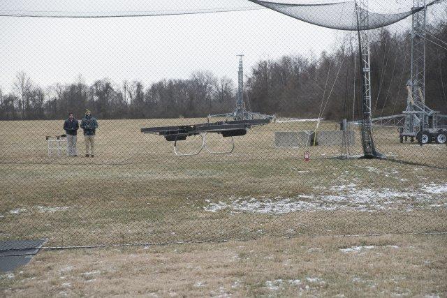 Американская армия испытала «летающий мотоцикл»