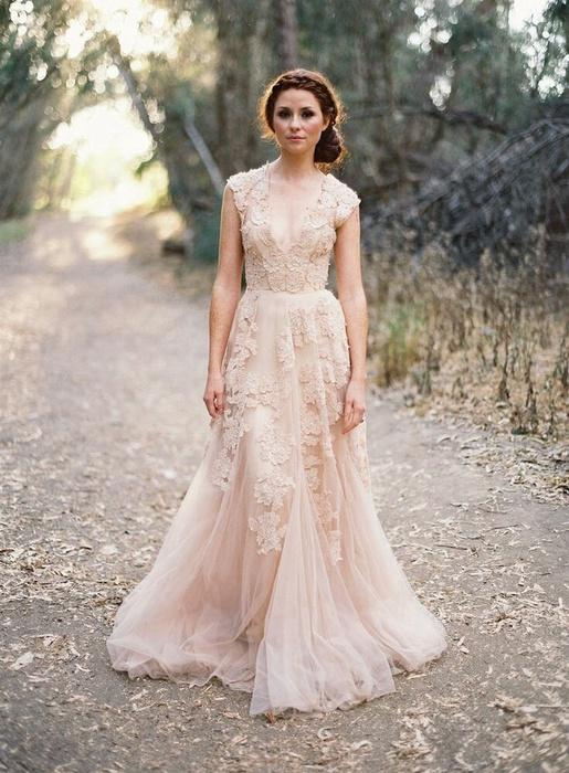 Где купить свадебное платье бохо