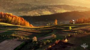 Волшебные осенние пейзажи Румынии