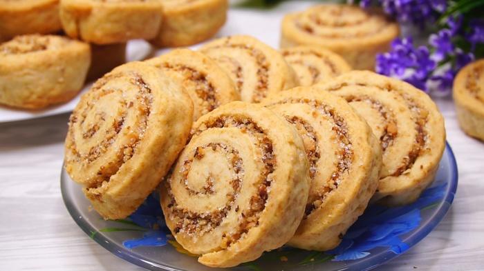Простое постное печенье Печенье, Рецепт, Выпечка, Еда, Кулинария, Видео, Постные блюда
