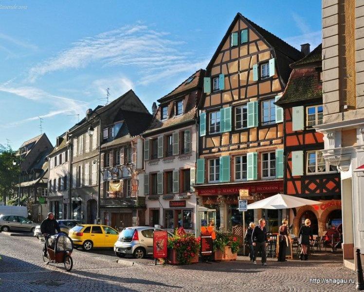 Кольмар, Colmar - самый красивый город Эльзаса, Франция фотография 3