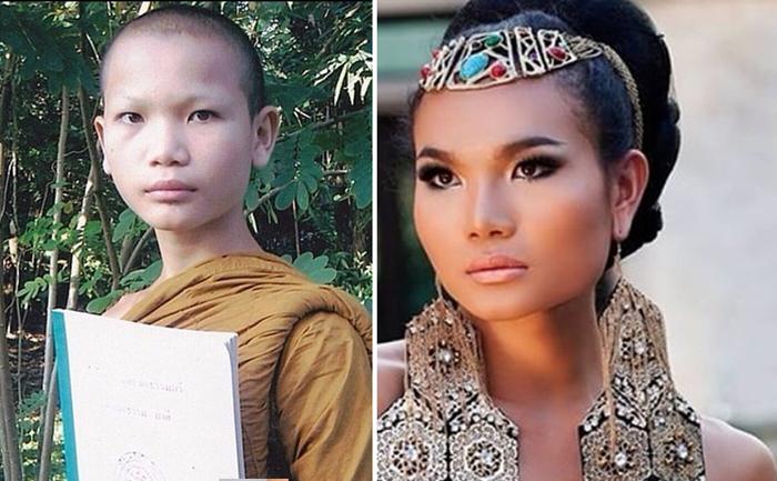 Мими - монах, который превратился в самую красивую супермодель Таиланда