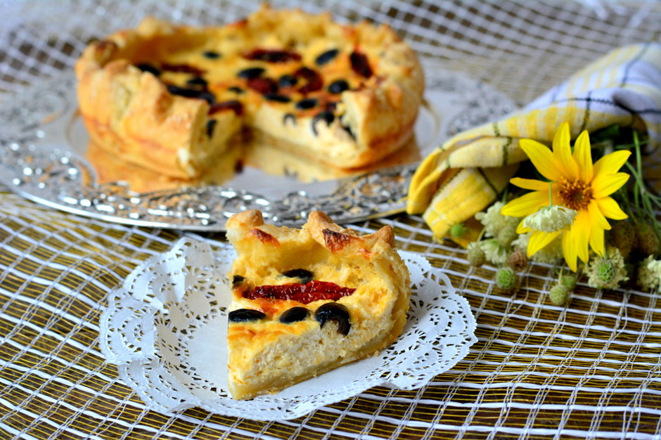 Несладкий греческий пирог