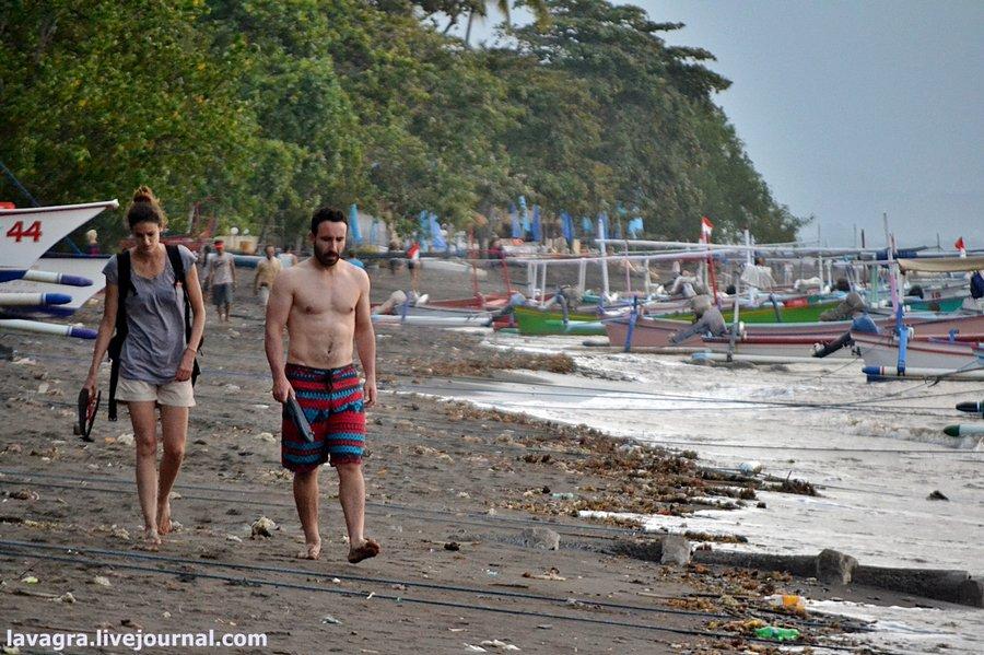 Реальность пляжного отдыха на сказочном Бали – грязь, крысы и жульё!