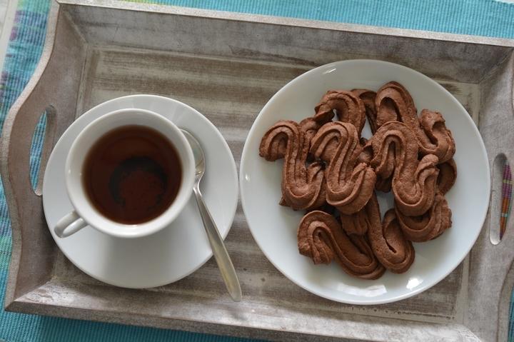 Венское шоколадное печенье фото