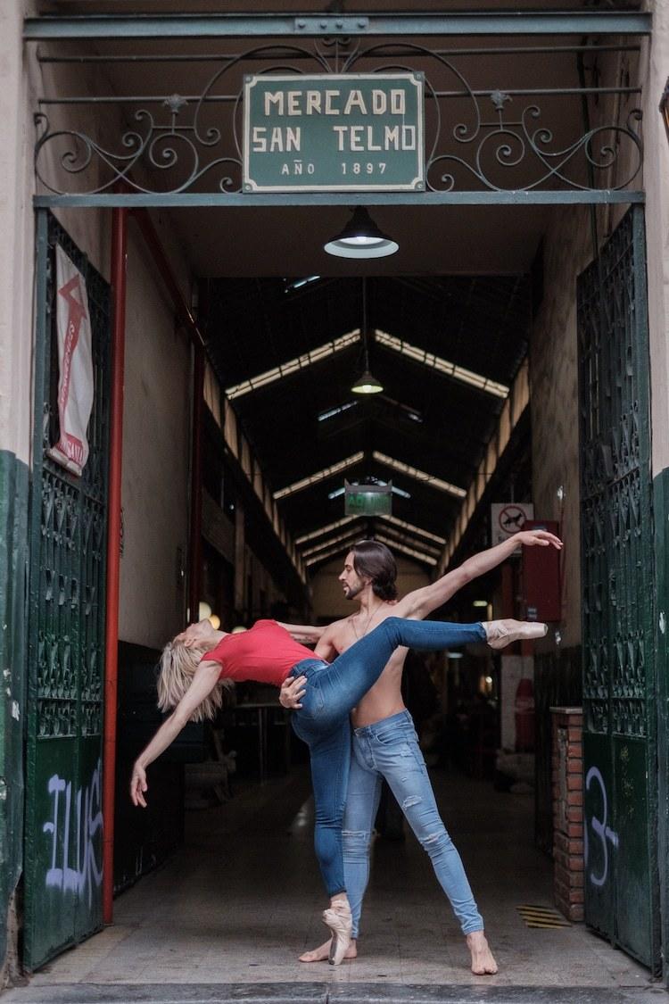 Фотограф сделал завораживающие портреты танцоров на улицах Буэнос-Айреса