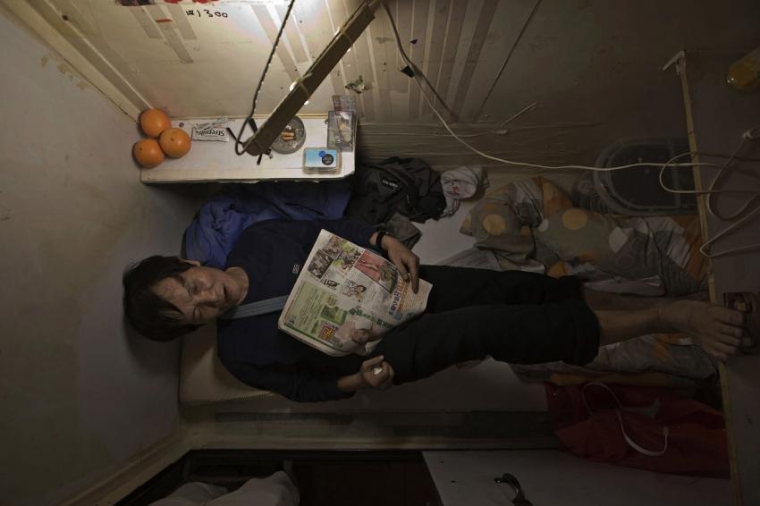 Дома-гробы из Гонконга