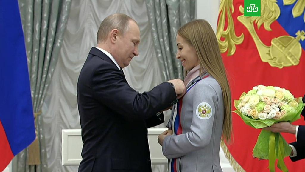 «Россия гордится вами»: Путин наградил паралимпийцев, занявших второе место в Пхенчхане
