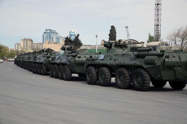 Россия поставила вАзербайджан новую партию военной техники