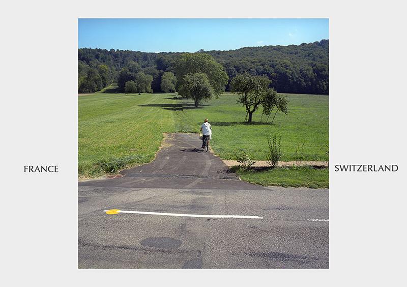 Франция - Швейцария граница, страна